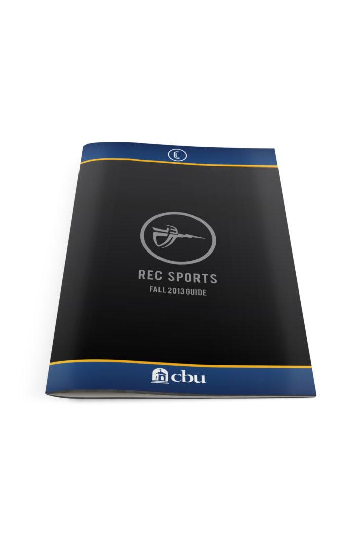 Rec Sports Brochure